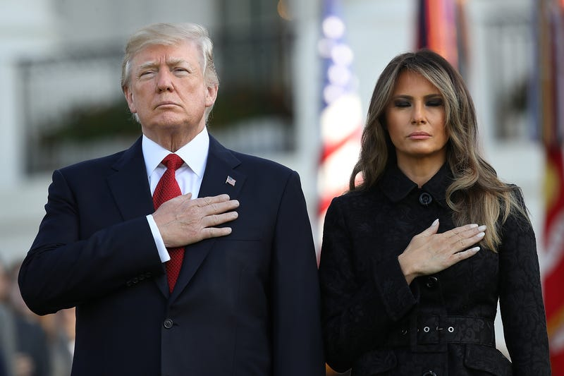President Donald Trump and first lady Melania Trump (Win McNamee/Getty Images)