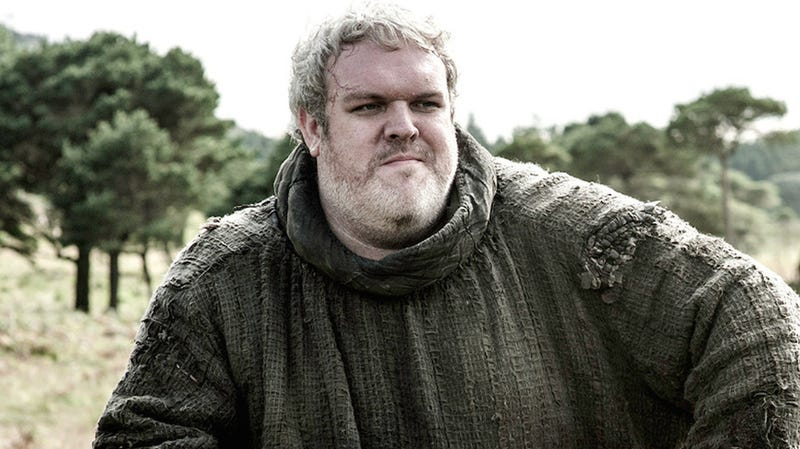 Hodor=I'm never watching this show again!
