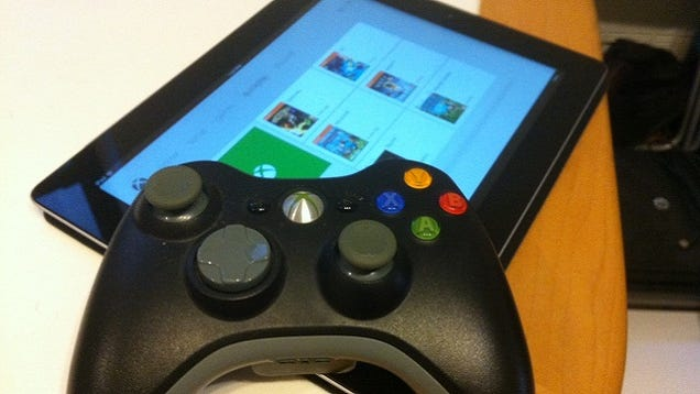 how to connect xbox 360 controller to ipad