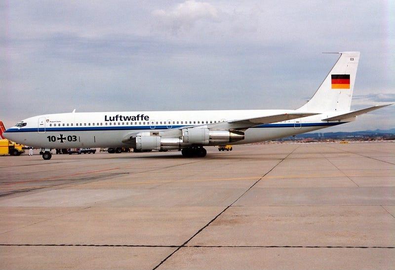 Illustration for article titled Luftwaffe 707?