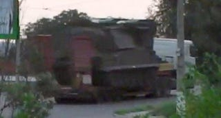 Illustration for article titled Is This SA-11 'Buk' SAM Missing 2 Missiles The One That Shot Down MH17?