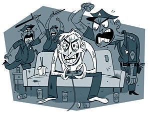 Illustration for article titled Boisterous Gaming Session Leads to Police Brutality Complaints