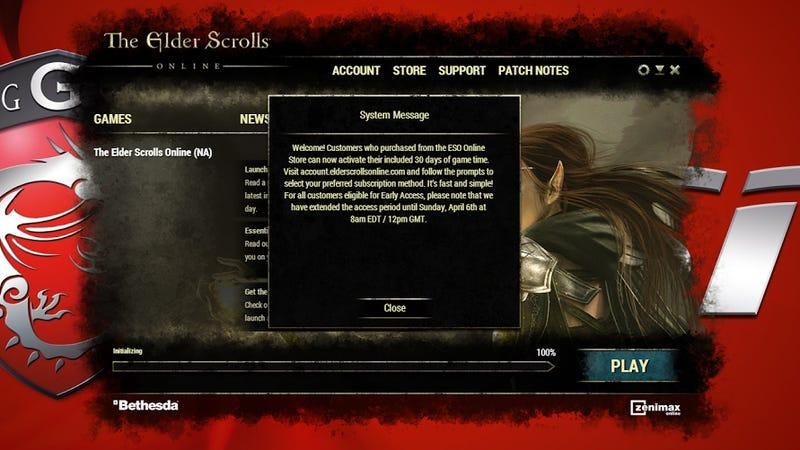Illustration for article titled Players Upset Over The Elder Scrolls Online's Subscription System