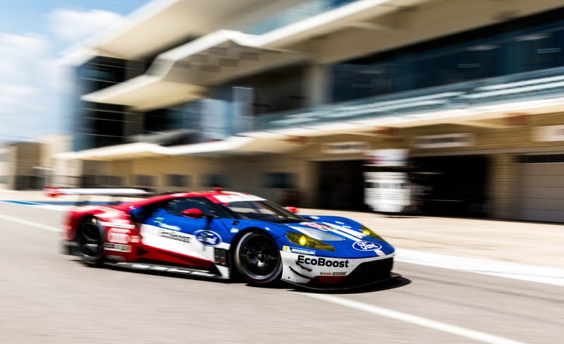 One of two GTLM-class Ford GTs in the WeatherTech Sports Car Championship. Photo credit: Kurt Bradley