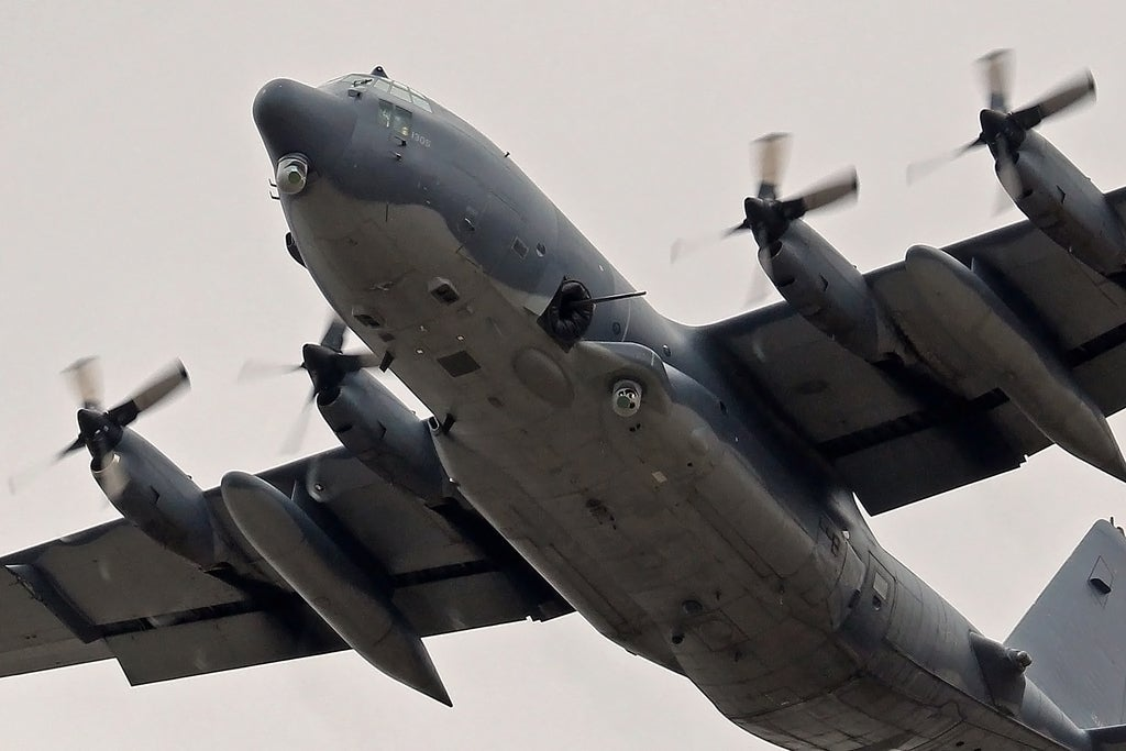 The U S  Air Force's New AC-130 Gunships Are Really Bomb Trucks