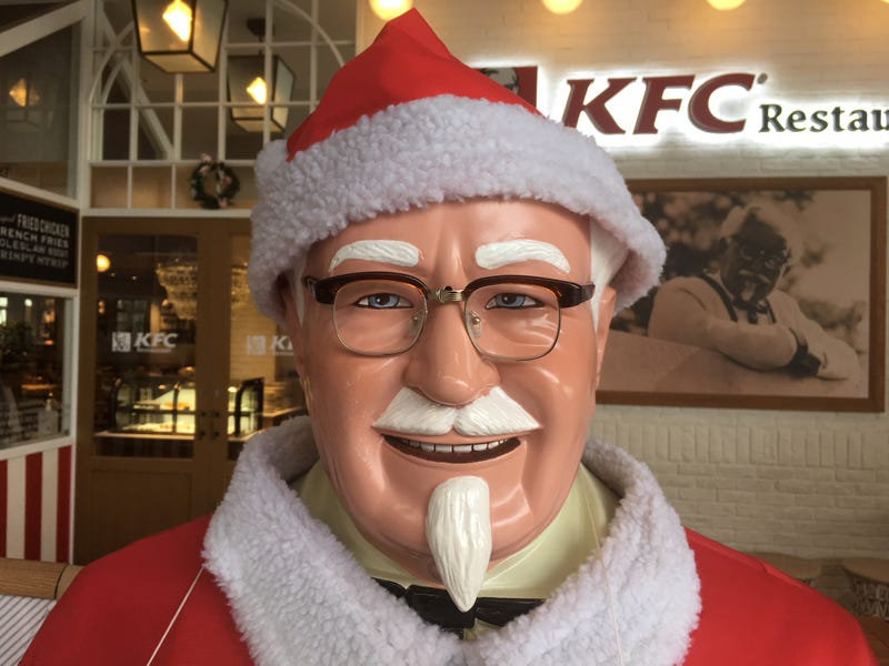 Kfc Japan Christmas.Why Kfc Is Christmas Dinner In Japan