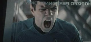 Illustration for article titled What did Benedict Cumberbatch do to make Spock scream like this?