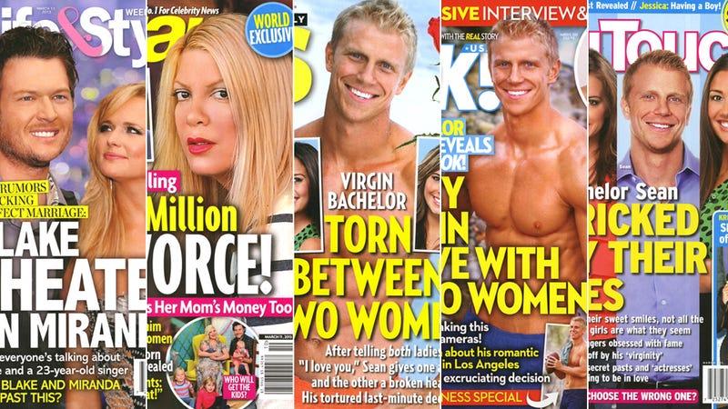 Illustration for article titled This Week in Tabloids: Blake Shelton Cheated on Miranda Lambert
