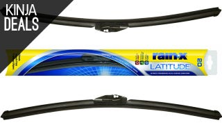 Illustration for article titled Score Two Rain-X Wiper Blades for $24 Today