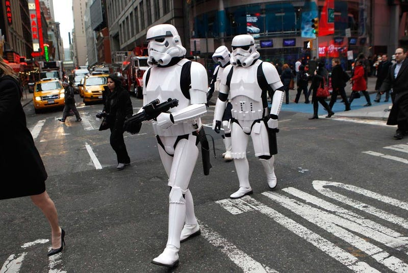 """Illustration for article titled A cop car keeps playing the """"Imperial March"""" and the NYPD is unamused"""