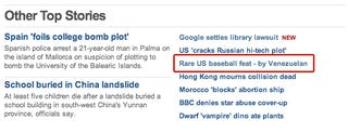Illustration for article titled Venezuelan Man Is Good At Baseball, BBC Is Shocked To Report
