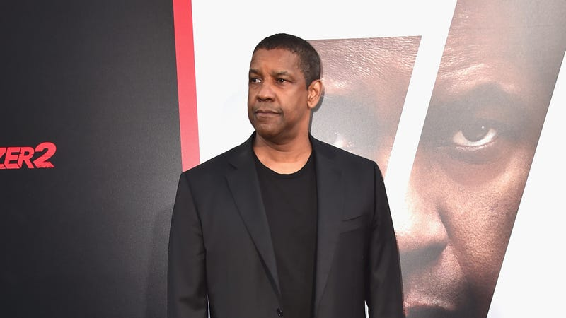 Denzel Washington attends the premiere of Columbia Picture's 'Equalizer 2'on July 17, 2018 in Hollywood, California.