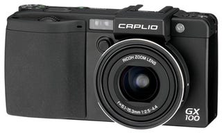 Illustration for article titled Ricoh Caplio GX100: 10 Megapixel Compact Will Make You Look Like a Swedish Graphic Designer