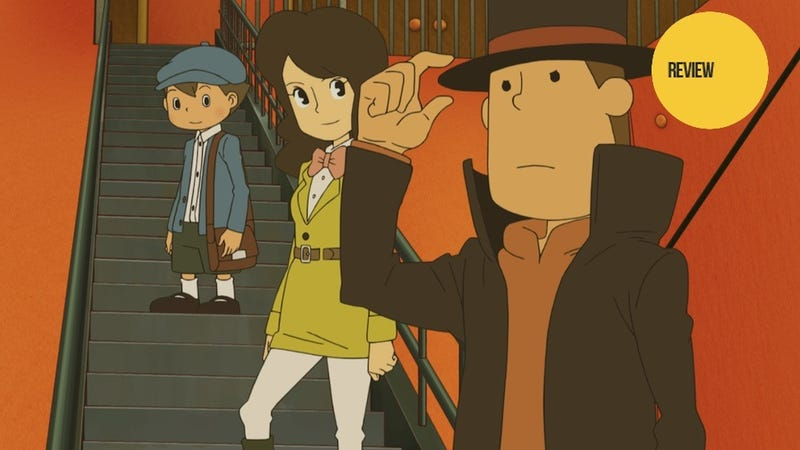 Illustration for article titled Professor Layton and the Azran Legacy: The Kotaku Review