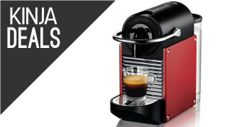 Illustration for article titled A Tinier Espresso Machine, Discounted Blenders, and More Deals