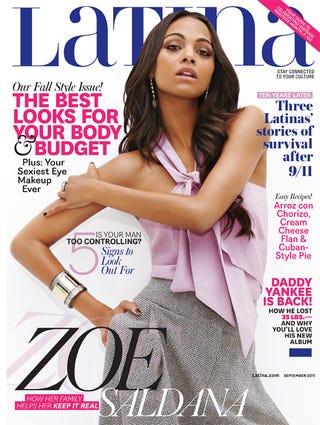 Illustration for article titled Zoe Saldana Looks Back On Her Breakdown