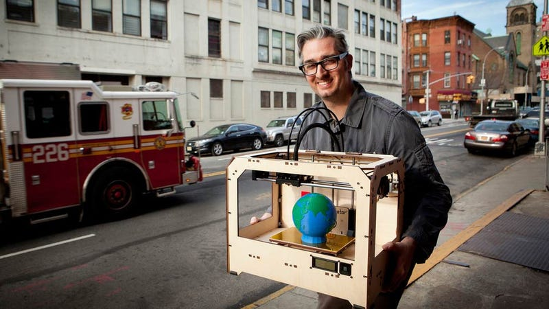 Illustration for article titled One of the World's Largest 3D Printing Companies Just Bought MakerBot