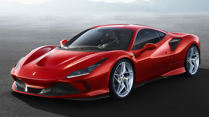 Illustration for article titled The Ferrari F8 Tributo Is A 710-Horsepower Mid-Engined V8 Beast