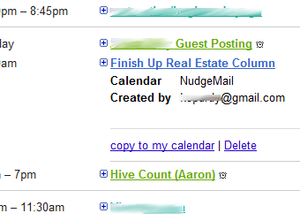 Illustration for article titled NudgeMail Adds Google Calendar Reminders to Email Re-Delivery Service