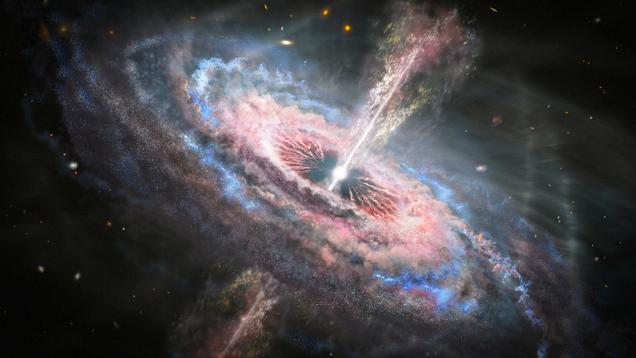 Hubble Telescope Detects Unthinkable Quasar Tsunamis