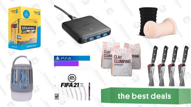 Friday s Best Deals: Rosetta Stone, Lantern Bug Zappers, FIFA 21, Ella Paradis Men s Health Bundle, and More