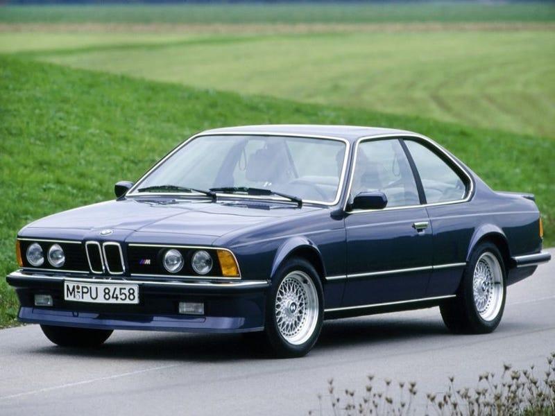 Meet the BMW E24, the E30's Big Brother