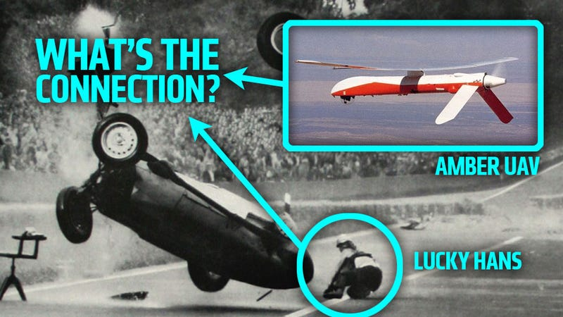 Illustration for article titled America's First Successful UAV Engine Was Secretly Built In A Racing Legend's Garage