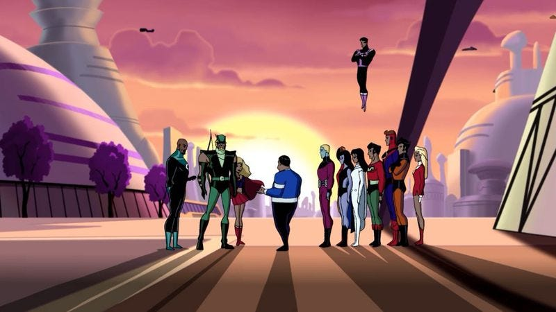 "Illustration for article titled Justice League Unlimited: ""Far From Home"""
