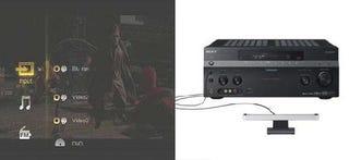 Illustration for article titled Sony STR-DA5200ES Receiver has PSP/PS3 Menus