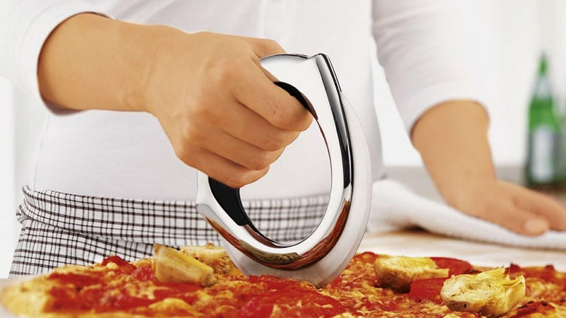 Illustration for article titled You'll Never Want This Gorgeous Pizza Cutter To Touch Melted Cheese