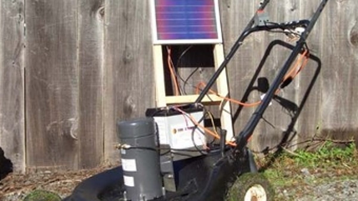 Top 10 Diy Projects That Harness The Power Of Sun Easy Lawnmower Physics