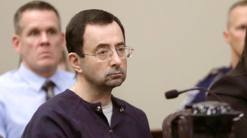 Illustration for article titled Lawsuit Claims Larry Nassar Raped And Impregnated Field Hockey Player In 1992