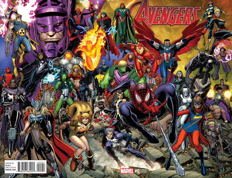 Illustration for article titled Marvel's Going to Have Six Avengers Teams This Fall