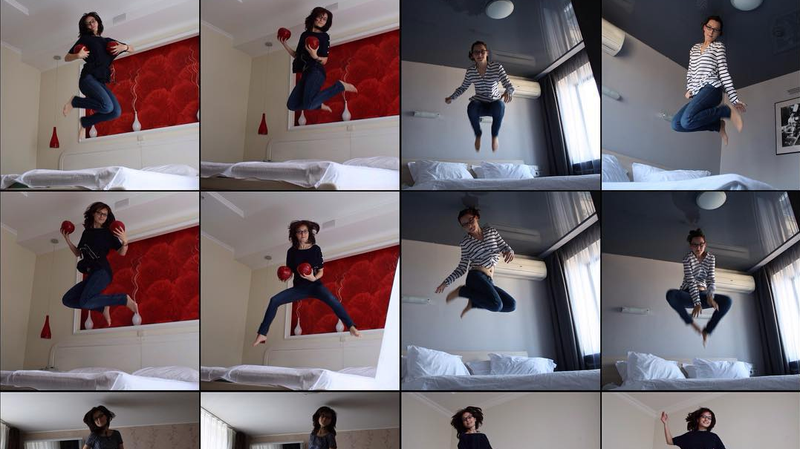 "Illustration for article titled Tickled director now digging into Instagram's weird ""Hotel Bed Jumping Community"""