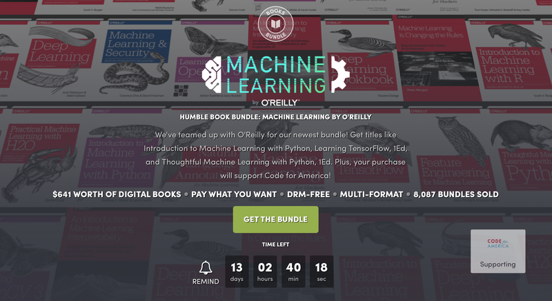 Humble Machine Learning Bundle