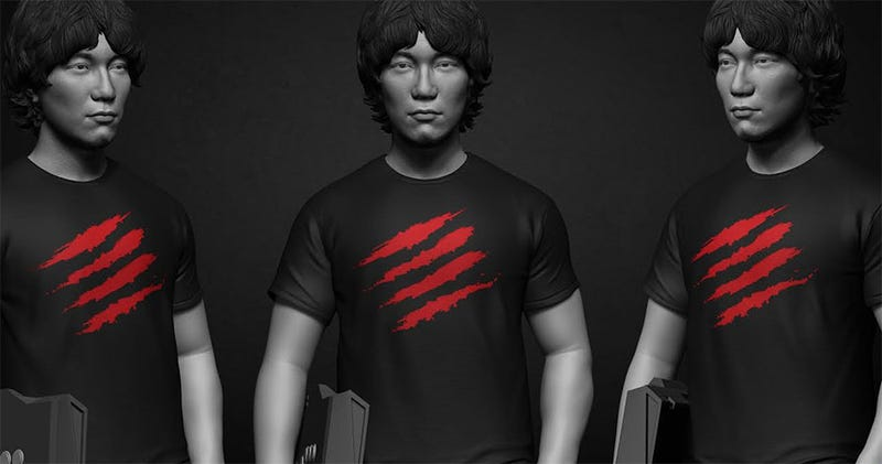 Illustration for article titled Daigo Immortalized With Statue (That You Can Buy)