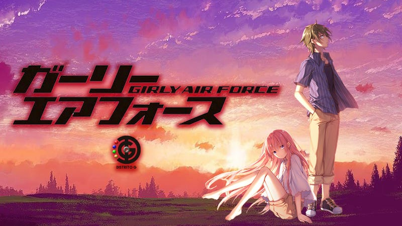 Illustration for article titled The anime ofGirly Air Force will premiere in 2019