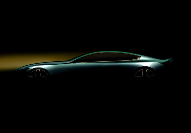 Illustration for article titled Looks like an 8-Series Gran Coupe is coming out