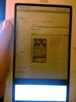 Illustration for article titled Is the Nook Officially a Tablet?