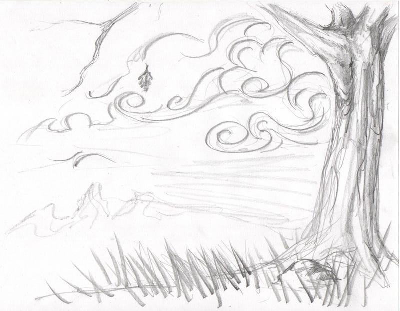 Illustration for article titled Autumnal Sketch