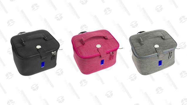Sanitize on the Go With 71% off a UV-C Travel Bag