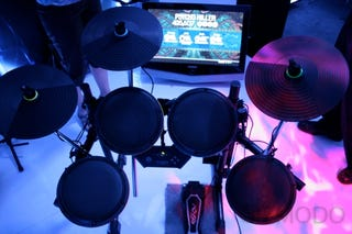 Illustration for article titled Rock Band 2 Is Only as Great as Its Instruments (Which Look Great)
