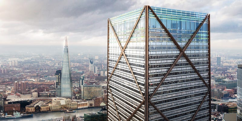 Illustration for article titled City of London's Tallest Building Will Be a Simple Work of Engineering