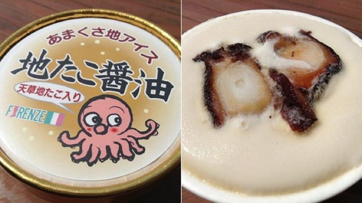 Hasil gambar untuk Octopus ice cream