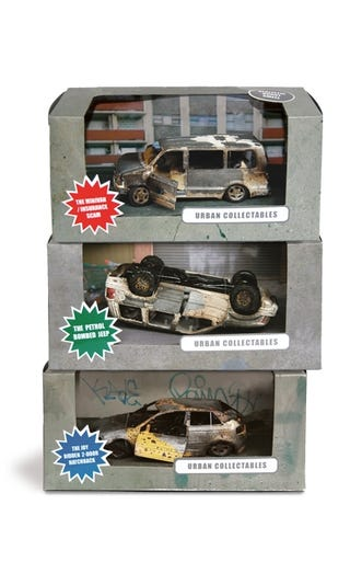 Illustration for article titled Hand-burned Toy Cars Spell Disaster For Human Race