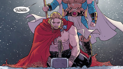 jane foster just proved she doesn 39 t need mjolnir to be thor