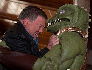 Illustration for article titled Shatner vs. the Gorn