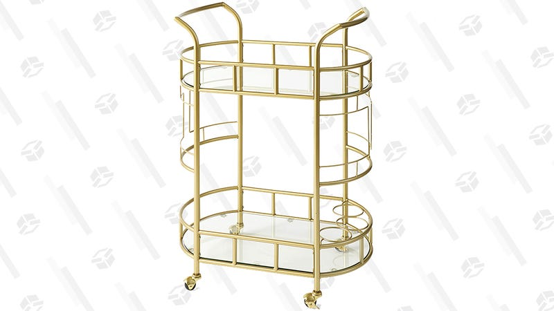Better Homes & Gardens Fitzgerald 2-Tier Serving Cart | $64 | Walmart