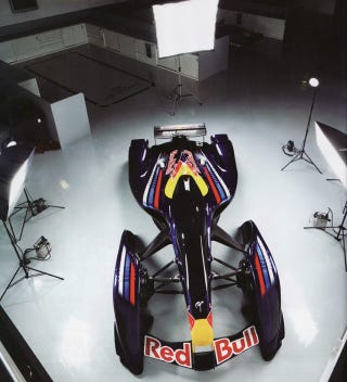 Illustration for article titled The Red Bull X1 Comes To Life, Sheds A Little Awesome