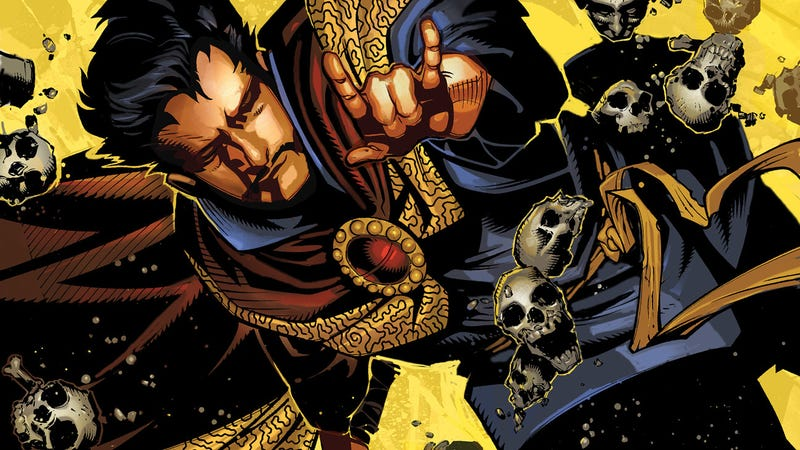 Illustration for article titled This Week's New Dr. Strange Comic Gives Us A Sorcerer Supreme Who's a Lot More Human